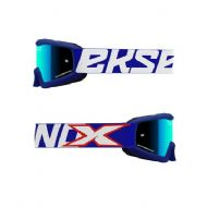 EKS Goggles Youth Blue/White